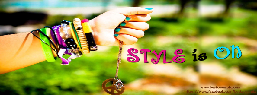 Style is On | Stylish Girl Profile  Cover Photo for Facebook
