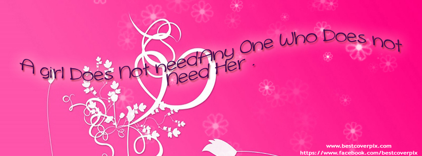Girl Stylish Profile Cover Photo for Facebook