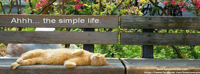 Simple Life Best Cover for Facebook