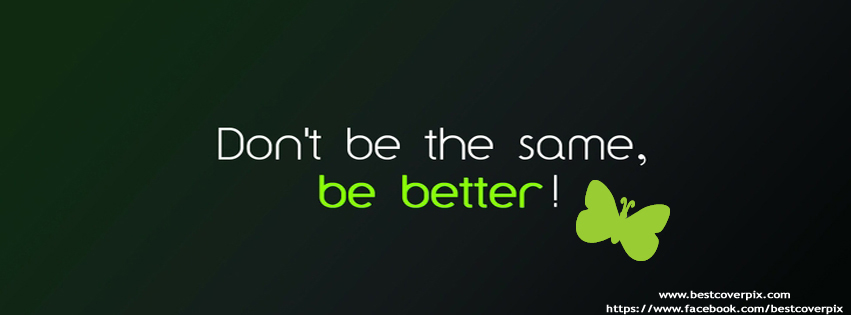 Attitude Quote Cover Photo for Facebook