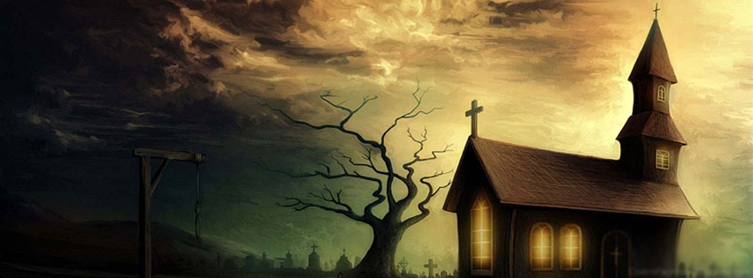 Strange Animated Home | Best Timeline Cover for FB