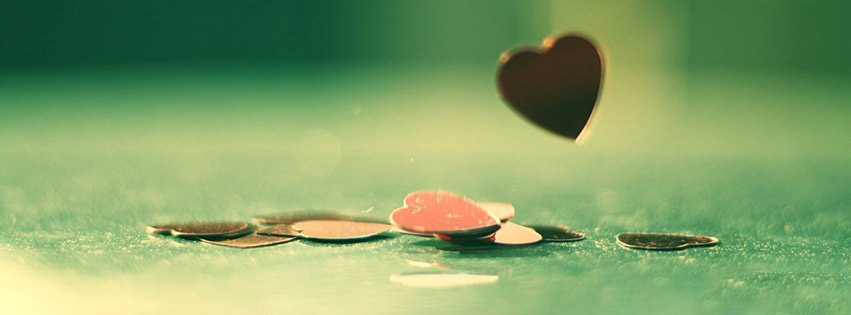 Love Coins Hearts Photos for Google Plus