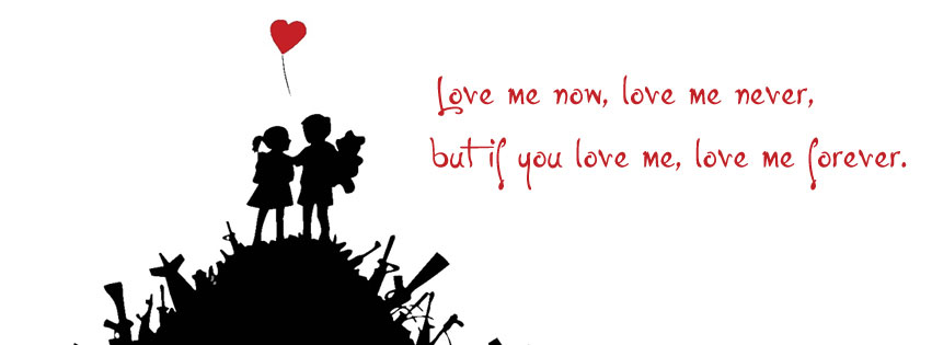 Love Me or Hate Me | Best Lovers Facebook Cover for Timeline