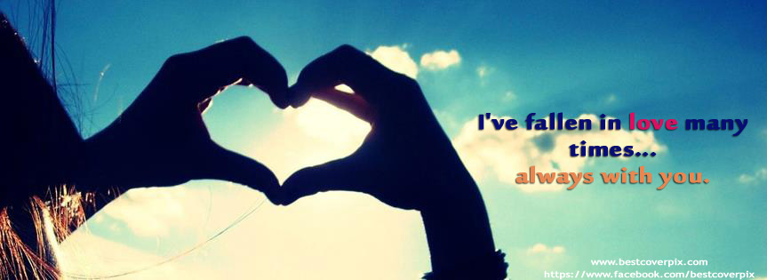 Fallen in Love Making Heart Fb Covers