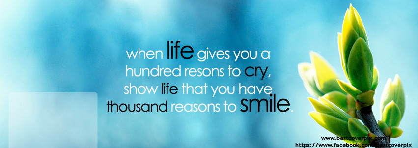 Life Cover Quotes Beauteous Best Life Quotes Facebook Covers Collection