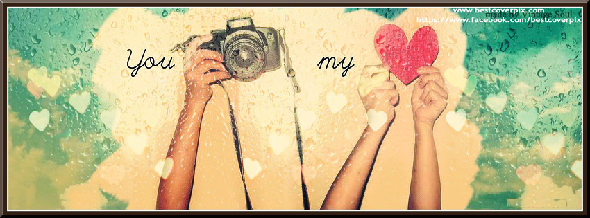 Love You and Me Facebook Cover Photos