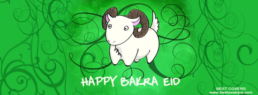 Happy Bakra Eid Timeline Cover Photo