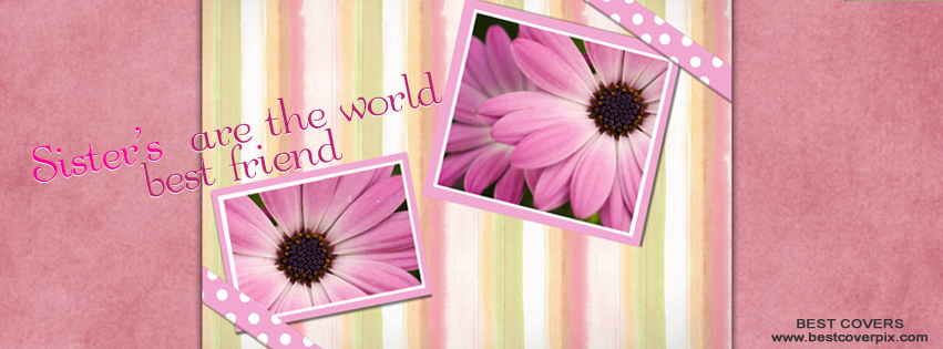 Sisters Friendship Facebook Cover Photo