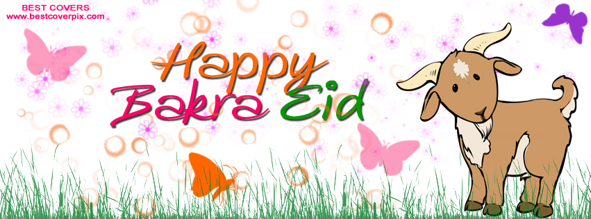 Happy Bakra Eid FB Timeline Cover Photo