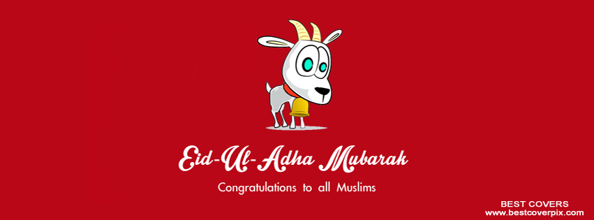 Eid ul Adha Mubarak FB Covers