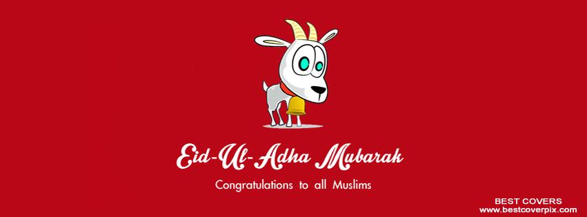 Eid ul Adha Mubarak FB Covers