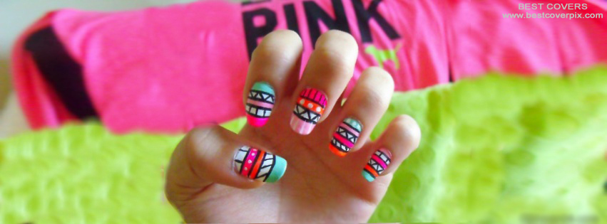 Stylish Girl Nails Cover