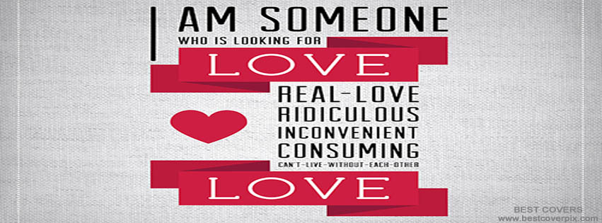 I am someone who is looking for love