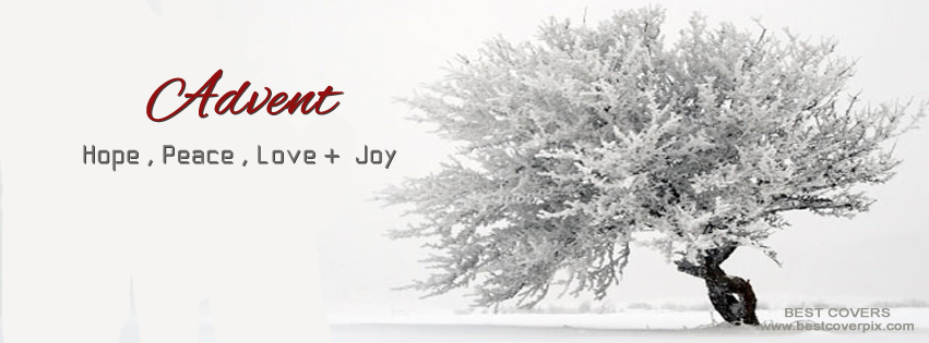 Advent ( Hope , Peace , Love and Joy ) FB Timeline Cover Photo