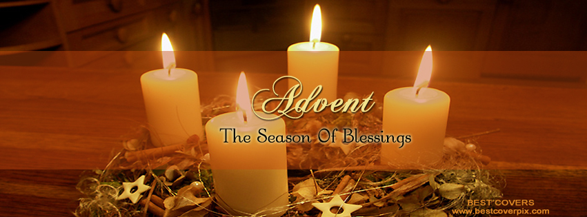 Best Advent The Season of Blessings FB Cover Photo