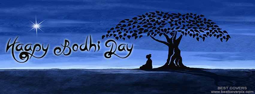 """ Happy Bodhi Day "" Facebook Cover Photo"