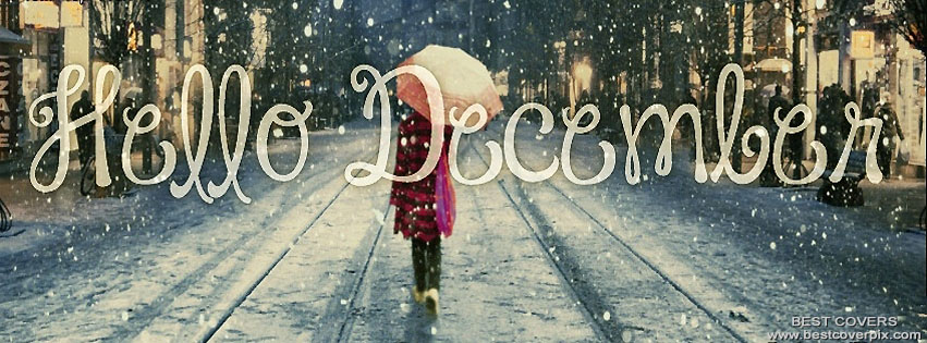 Hello December FB Cover and Banner