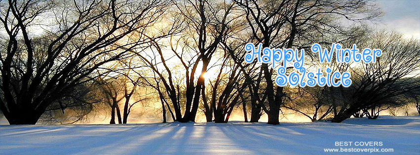 """ Happy Winter Solstice "" FB Cover Photo"