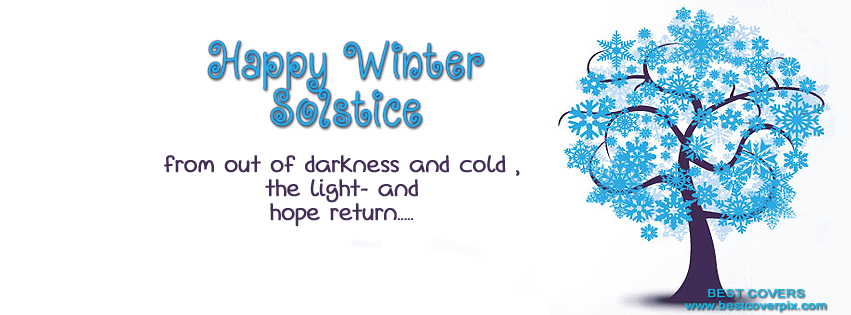 """ Happy Winter "" FB Timeline Cover Photo"