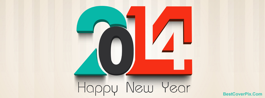 Happy New Year 2014 Creative Covers for Your Facebook Timeline