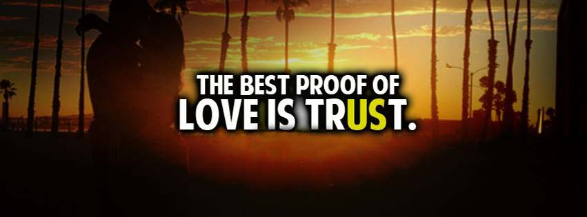 Love Is Trust FB Cover for Your Timeline