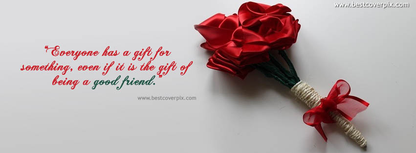 Best Friendship Quote Cover Photo for Facebook ( Happy Friendship day )