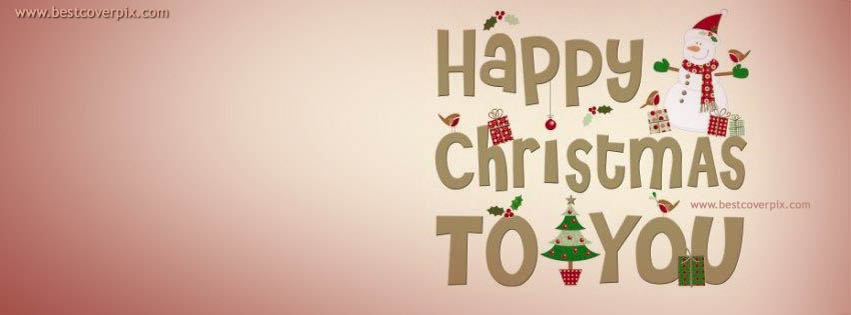 Happy Christmas To You: 2018 Best Facebook Timeline Cover