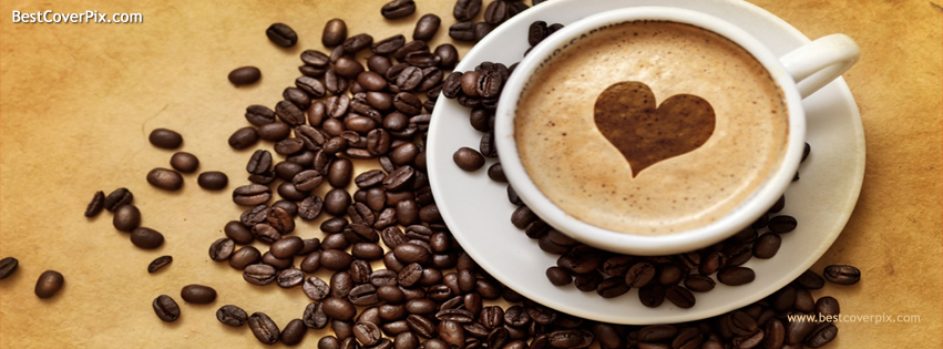 I Love Coffee Facebook Cover