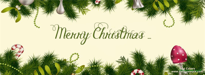 Happy Christmas FB Profile Cover Photo