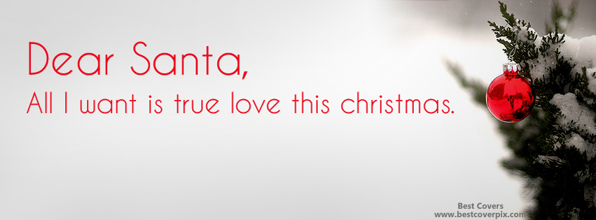 Dear Santa Wishes Cool Facebook Timeline Cover Photos
