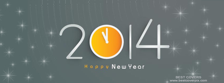 """ 2014 Happy new year "" Best Timeline Cover Photo"