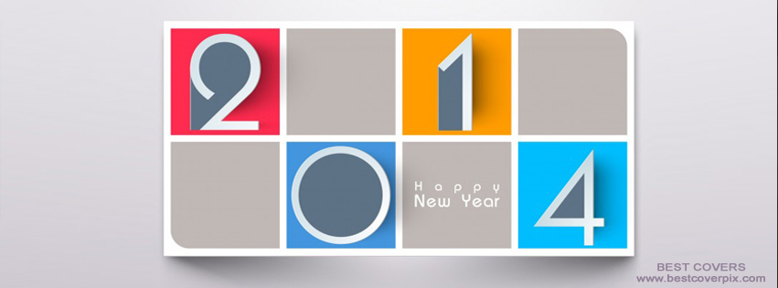 2014 Happy New Year ! FB Timeline Cover Photo