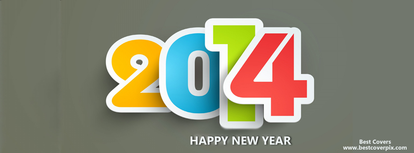 """ Happy New Year "" Best Facebook Profile Cover Photo"