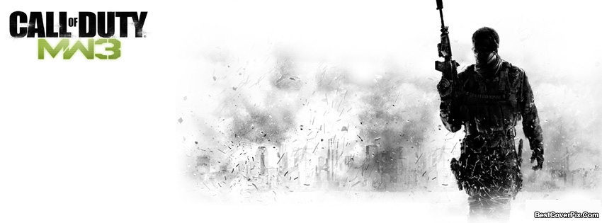 Call of Duty MW3 Army FB Cover Photos