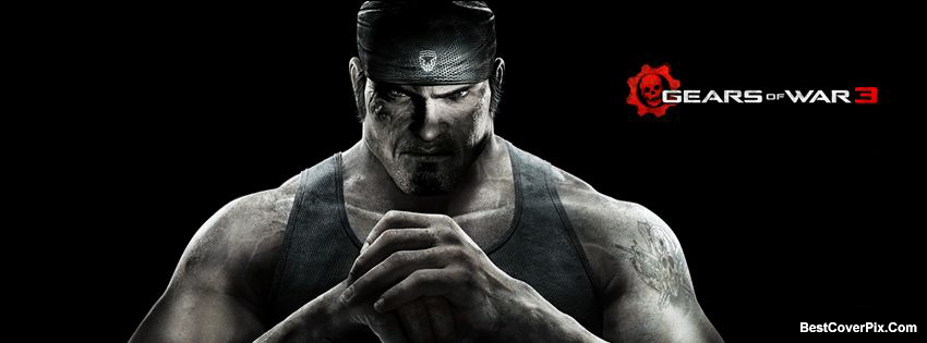 Gears of Wars 3 Animated Gaming FB Cover Photos