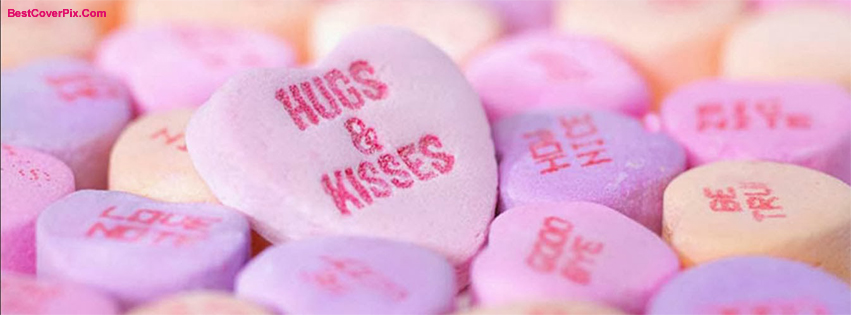 Hugs and Kisses Love Facebook Covers