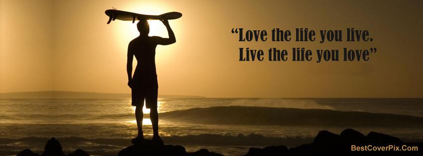 Life Quotes Facebook Cover Photos