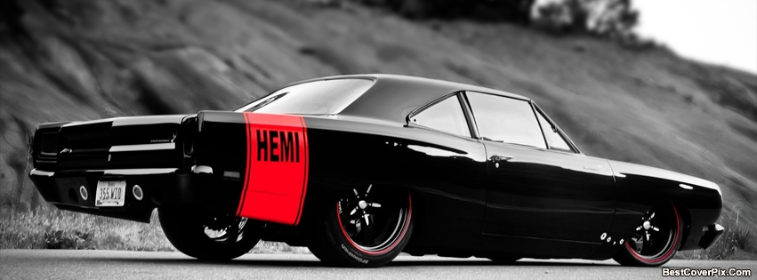 Hemi Engine Car Facebook Covers