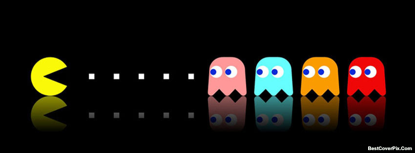 Pac Man Game Facebook Covers