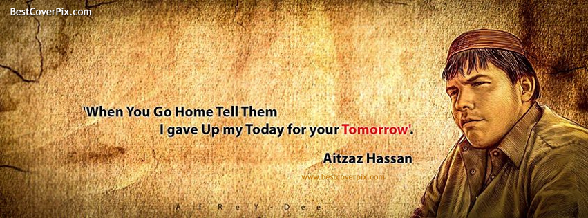 Aitzaz Hassan Bangash, The Nation proud of you | Best Cover for Facebook