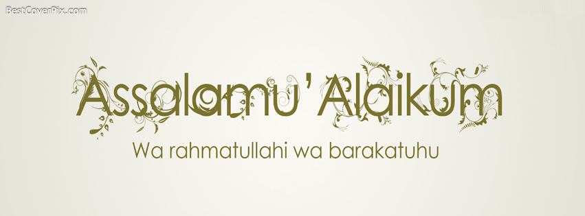 asalam o alaikum islamic cover photo