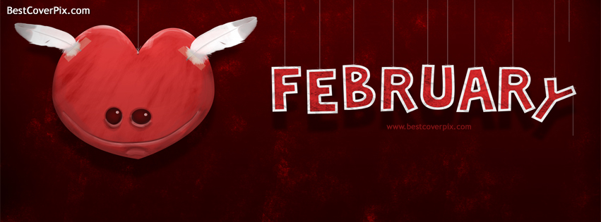 Cute Cool February Cover for Facebook Profile