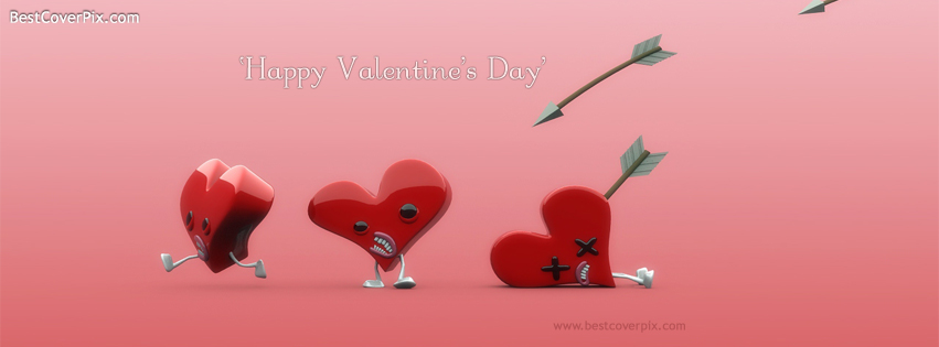 Funny Valentines Day Facebook Covers