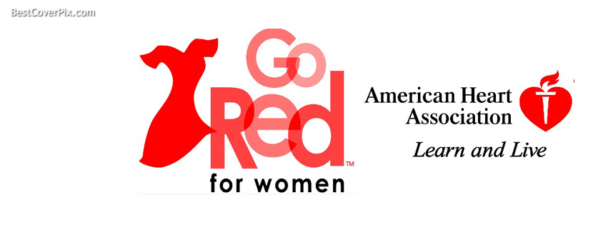 Go Red for Women (7 Feb in USA & on 26 feb in UK), Best Holiday Covers for facebook