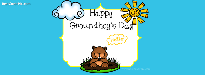 happy groundhogday cover photo