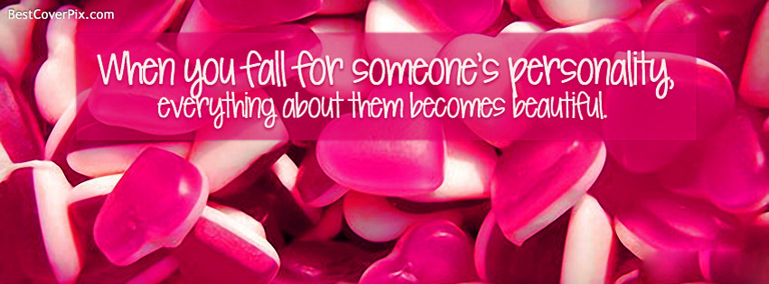 Happy Valentines Day Quote FB Cover Photo