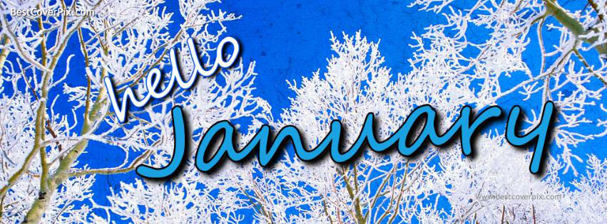 Hello January 2014 Facebook Covers