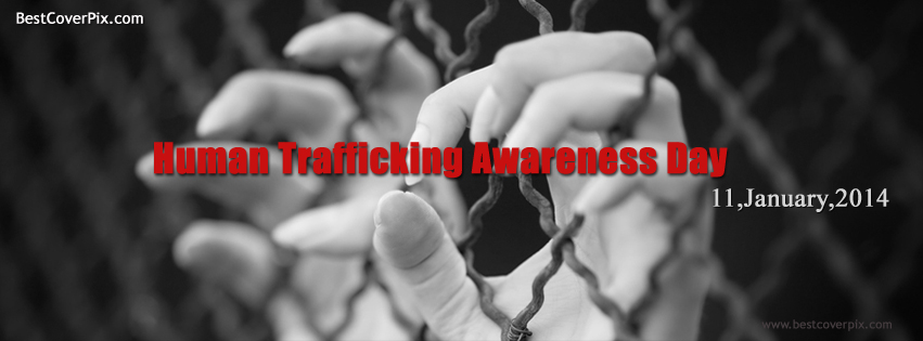 Human Trafficking Awareness Day | Stop Slavery | Best Cover for FB
