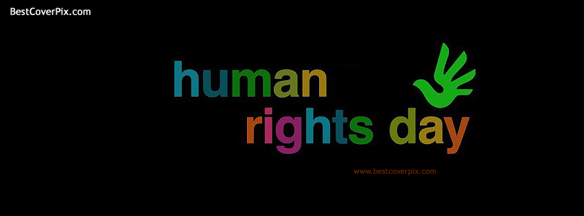 Human Rights Day Best Profile Cover For Facebook