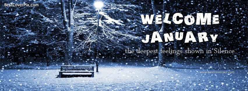 Welcome January Best Fb Timeline Cover Photo